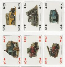 Collectible Advertising Sweedish  playing cards. Scania 1991